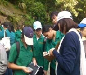 13-至二格山進行野外地質考察