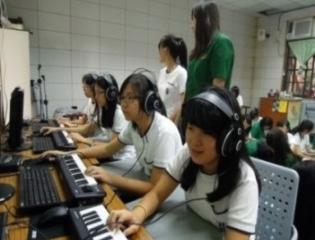 14-「電腦音樂創意教學設計與E起創意人聲」音樂專科教室計畫