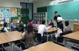 09成立新進教師專業學習社群-分享學生特質、教學策略及閱讀心得