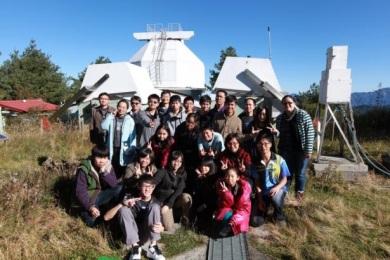 14跨校聯合觀星活動-遠登玉山鹿林天文台