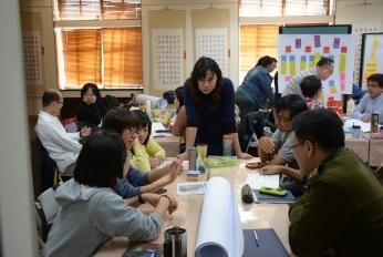 17臺北市104年度高中課程與教學發展工作圈課程領導組第三梯次「課程地圖發展工作坊