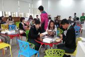 29教師參與活化教學,並分享課程成果。例如學習共同體、翻轉教學等