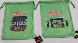 櫻桃小丸子兩種外包裝束口袋