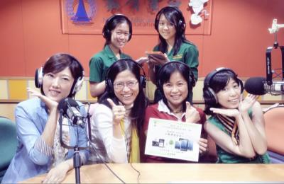 17-師生受教育電臺之邀暢談『綠園行動學習』