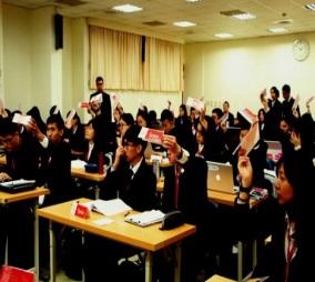 21-來自47所高中198位學生參加全國青年高峰會議