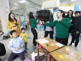 20-開放社區國中、家長、教師參加「魔法綠園」推廣科普教育