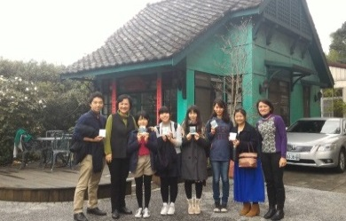 28「模擬聯合國」課程:日本堀川高校師生觀摩課程