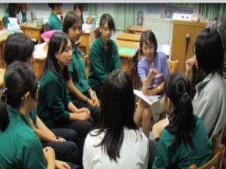 23教授蒞校訪視,與學生座談,了解學生想法
