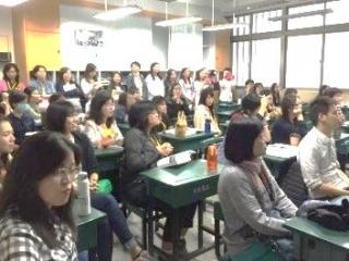 29本校教師於臺北市高中特色課程博覽會分享三門課程,獲熱烈的迴響